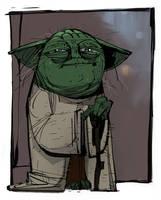 Yoda by johnlaine