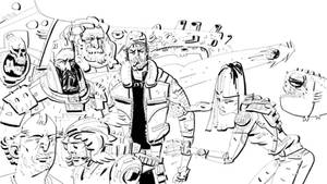 Spaceman Rough by johnlaine