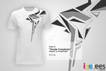 IceTees - Simple Complexity by ice-works