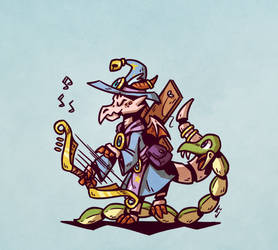 Puppet Bard by casual-dhole