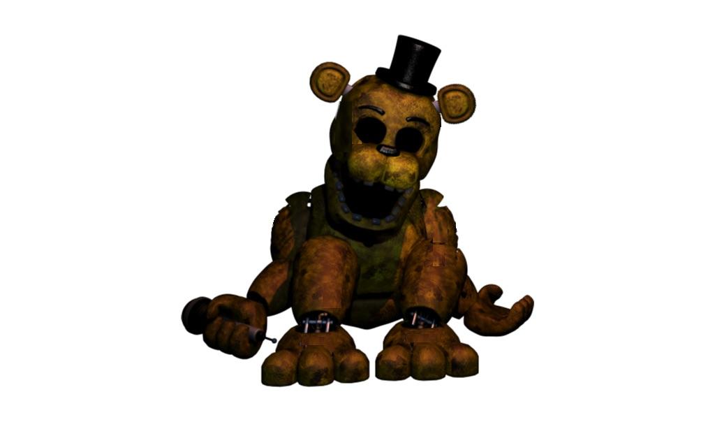 Fnaf 2 Withered Golden Freddy | www.pixshark.com - Images ...