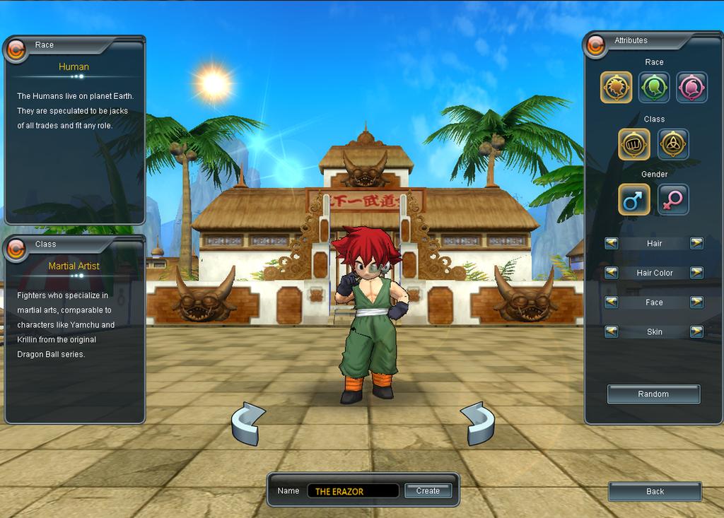 Jugando A Dragon Ball Online by Abraham-el-erizo