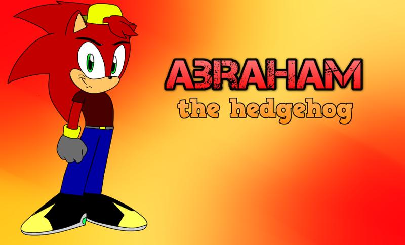Abraham The Hedgehog by Abraham-el-erizo