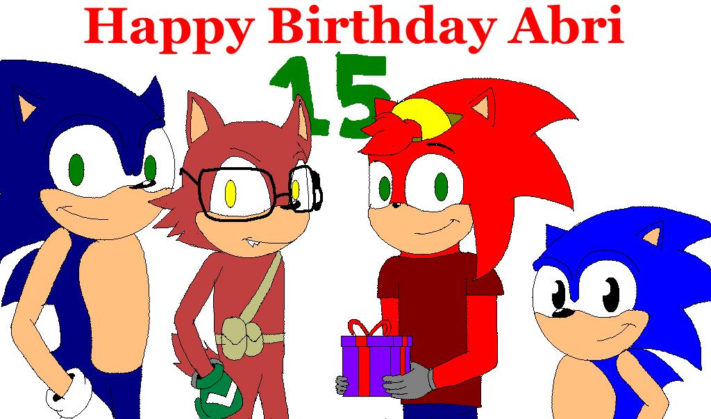 happy birthday by Abraham-el-erizo