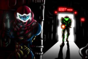 [Metroid Fusion] Escape of SA-X