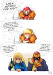 Samus reaction of Metroid Prime: Federation Force