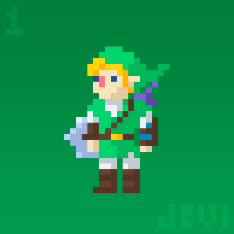 Link Of The Legend Of Zelda By
