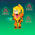 Daily Pixel Art 038 | Samus Aran