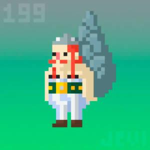 Random Pixel Art 199 | Obelix