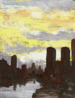 Big City Dawn by Life-takers-crayons