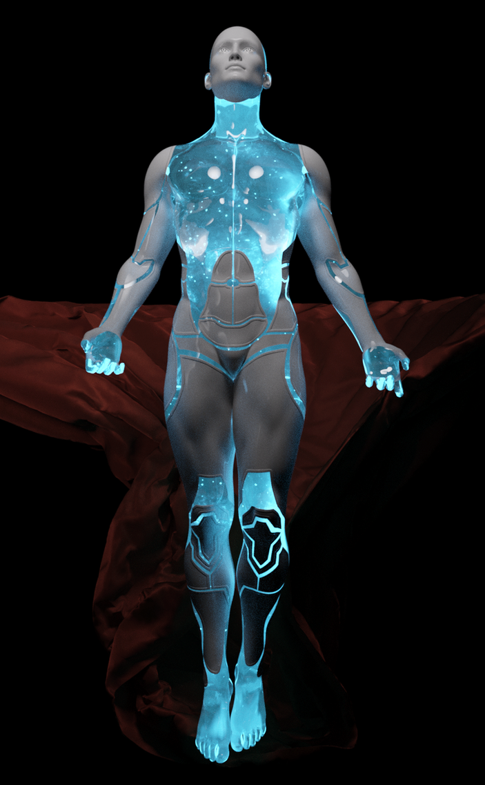 Digital Ascendant by CrownDigitalArt