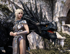 A Girl and her Wyvern