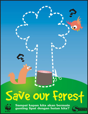 poster: Save Our Forest by environment