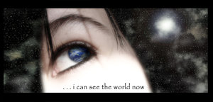 I can see the world now by environment