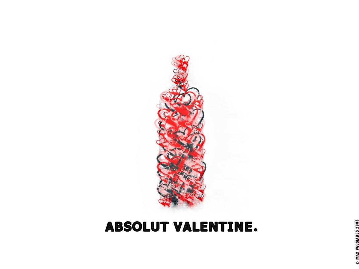 absolut valentine by primah absolut valentine by primah - Valentines Vodka