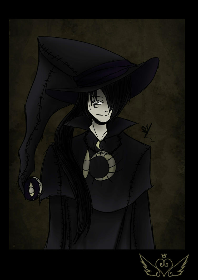[Bonus Portrait] Male Witch by OpalesquePrincess