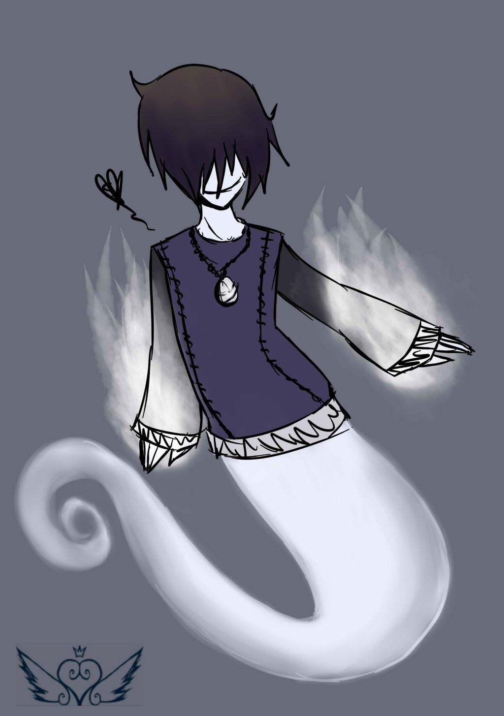 [HauntedManor] Ghost Boy by OpalesquePrincess