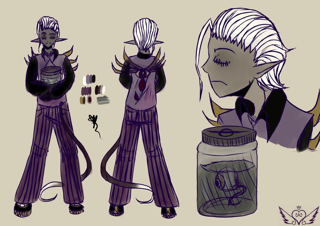 [InsaneNightmare] Demonic by OpalesquePrincess