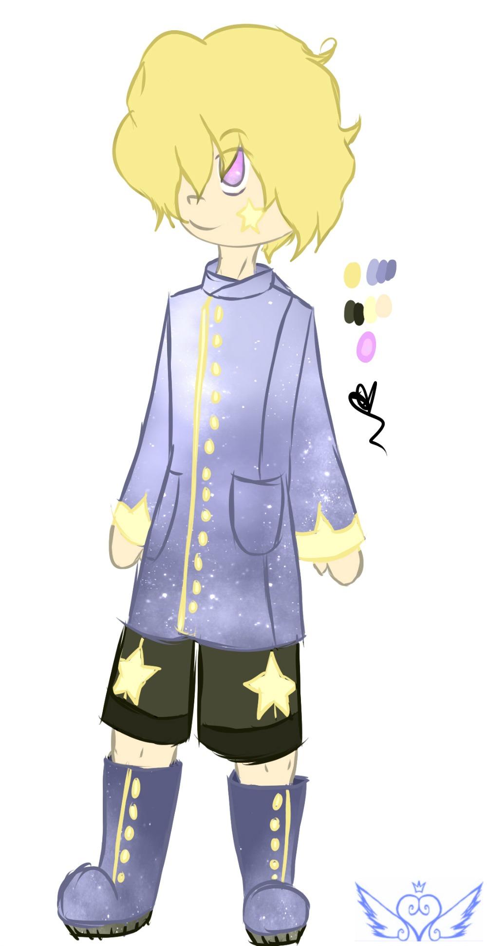 [Galaxies] Star Boy  by OpalesquePrincess
