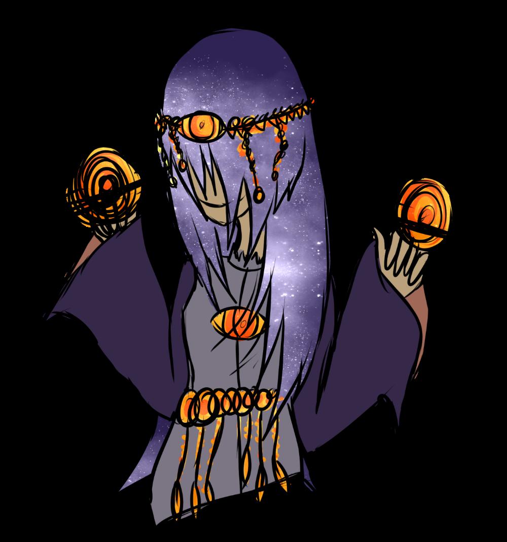 [HauntedManor] Psychic Girl Bust by OpalesquePrincess