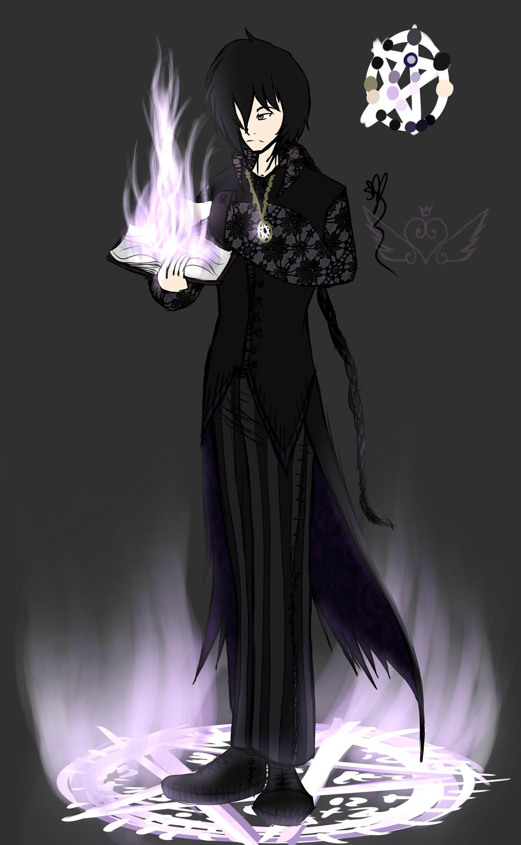[Ref] Luther Crow by OpalesquePrincess