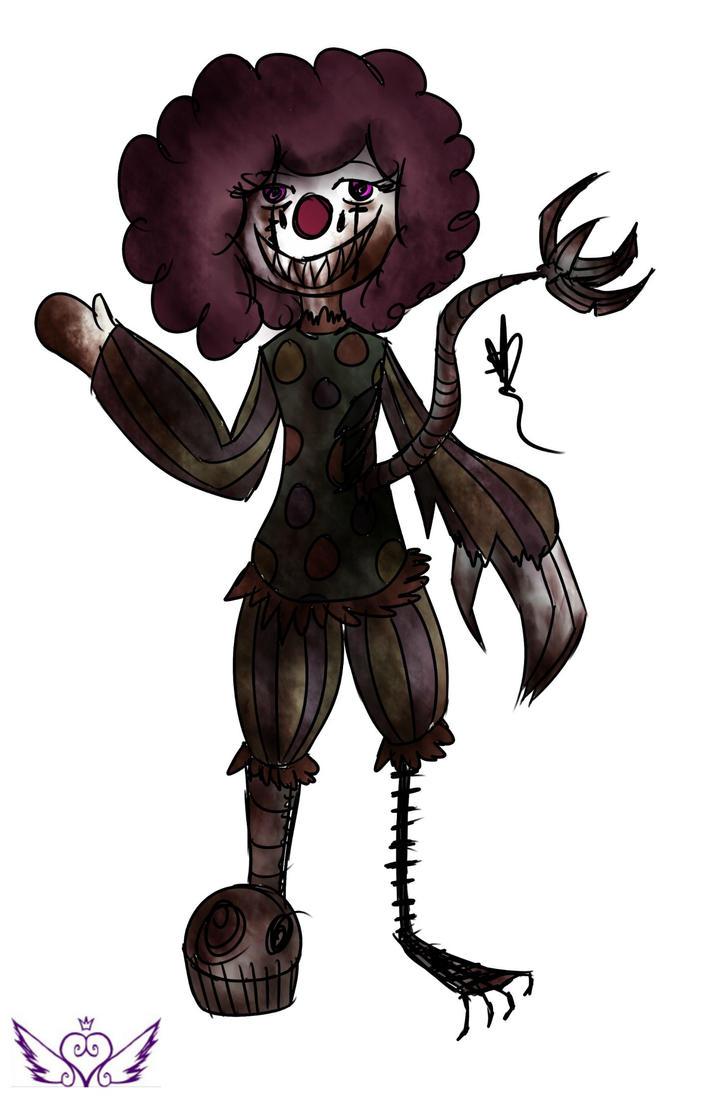 [Claw Machine] Clown by OpalesquePrincess