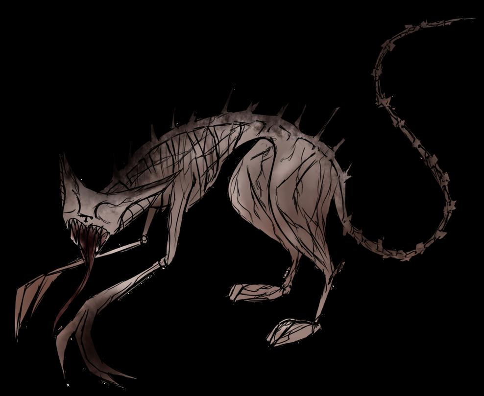 [InsaneNightmare] Feline Monster by OpalesquePrincess