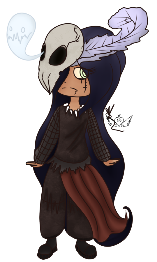 [Graveyard Cuties] Witch Doctor by OpalesquePrincess