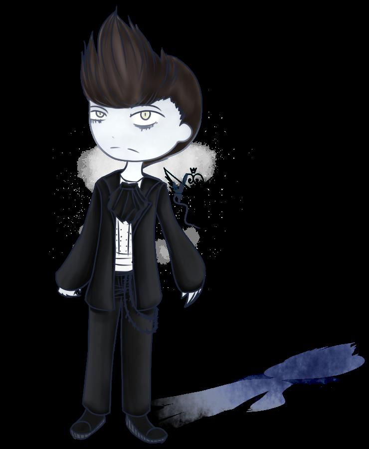 [Graveyard Cuties] Victorian Phantom by OpalesquePrincess