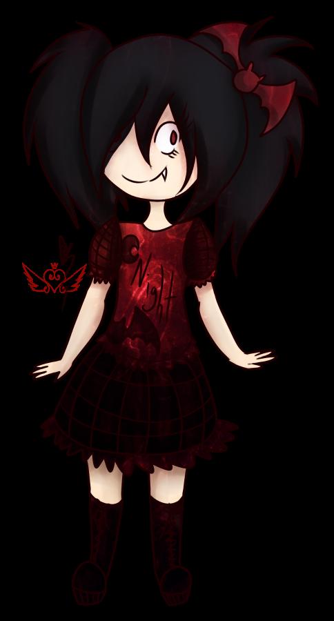 [Graveyard Cuties] Vampire by OpalesquePrincess