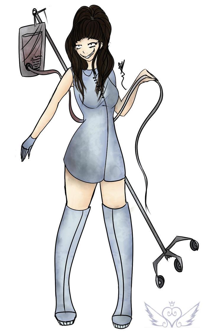 [DemiseNightmare] Psychotic Nurse by OpalesquePrincess