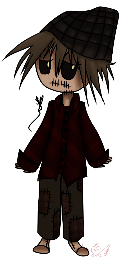 [Graveyard Cuties] Scarecrow by OpalesquePrincess