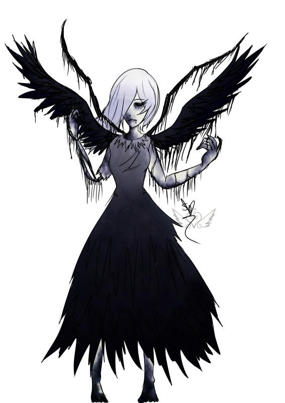 [Demise Nightmare] Frozen Raven by OpalesquePrincess