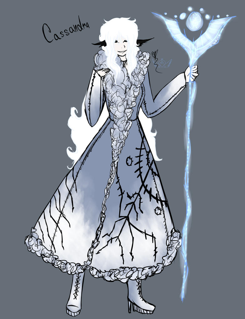 [Ref] Cassandra by OpalesquePrincess