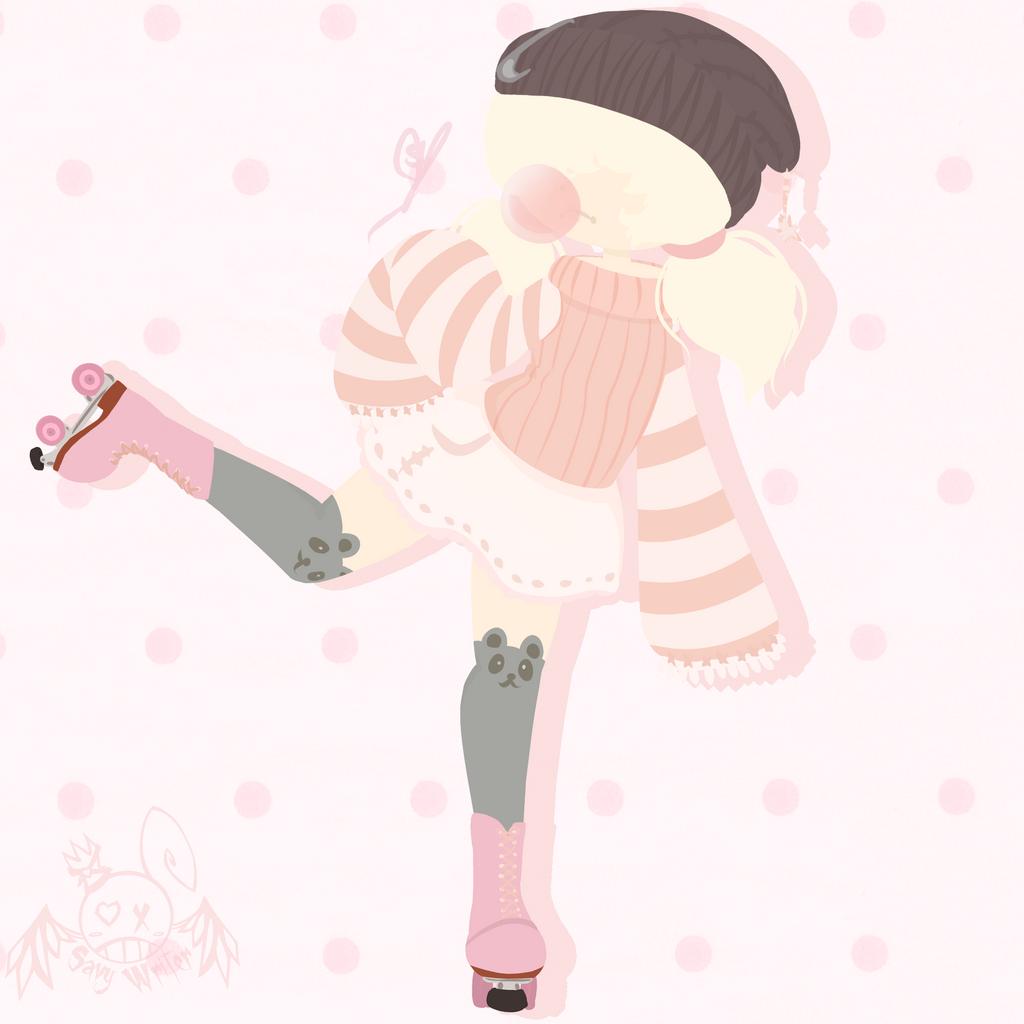 Bubblegum Witch by OpalesquePrincess