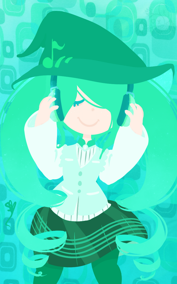 Music Witch by OpalesquePrincess