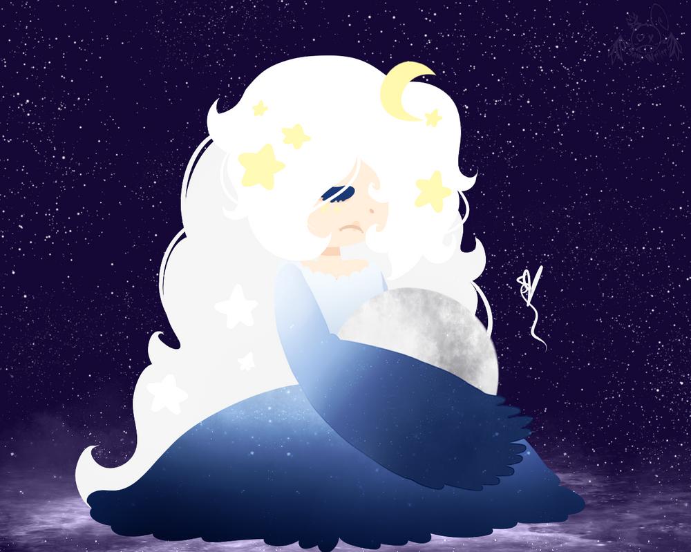 Lunar Witch by OpalesquePrincess