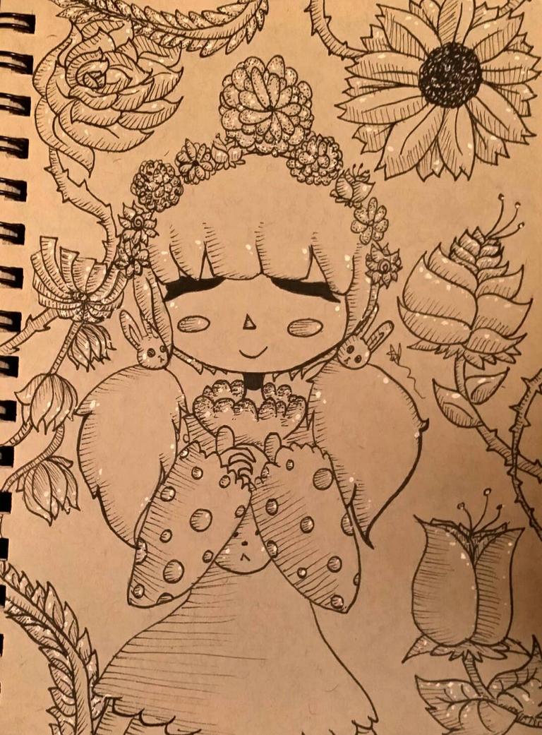 .::Flower Garden::. by OpalesquePrincess