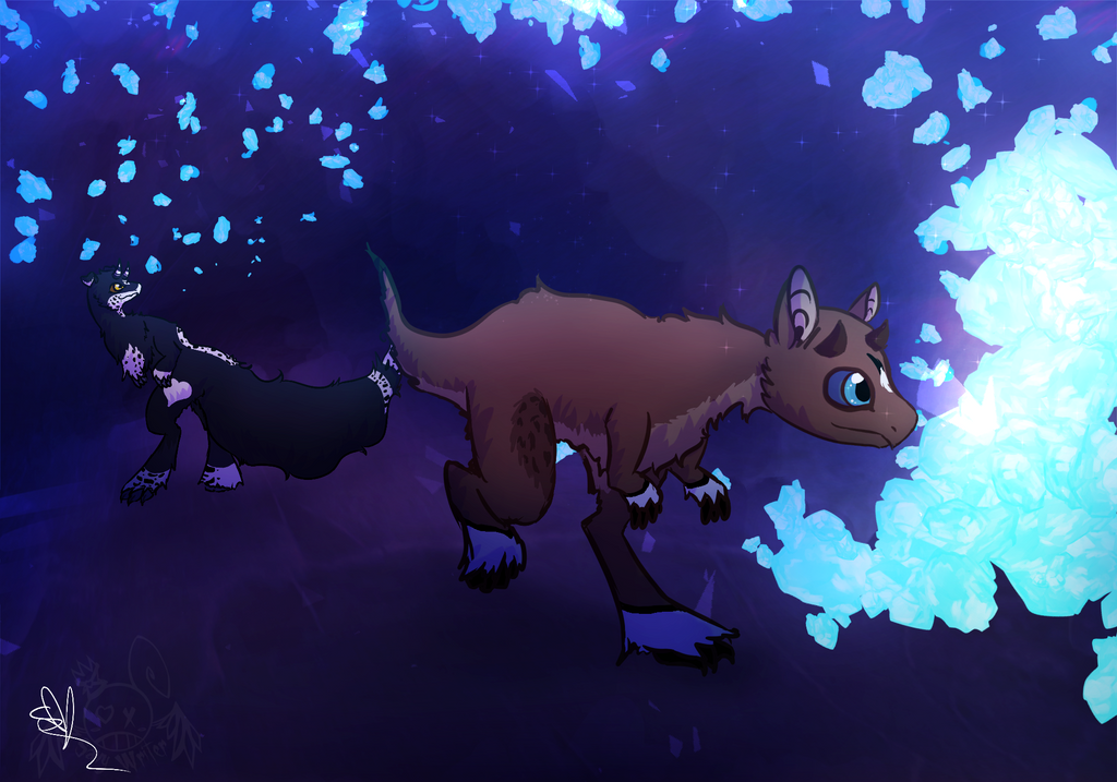 .::Crystal Path::. by OpalesquePrincess