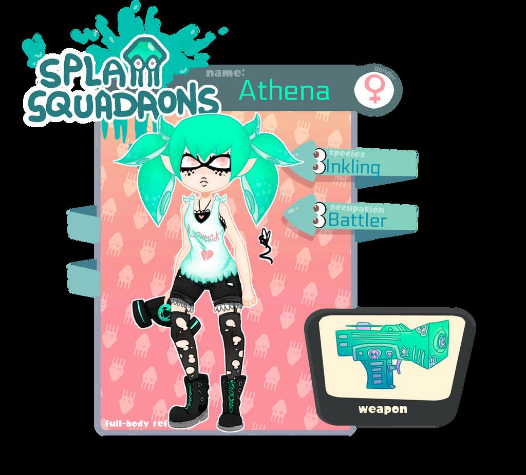 [Splat Squadrons] Athena APP by OpalesquePrincess