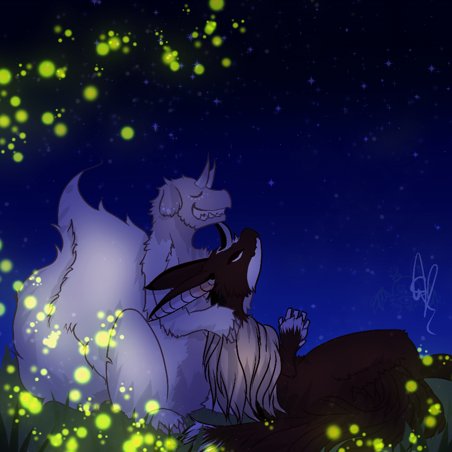 [Enamored] Fireflies and Stars by OpalesquePrincess