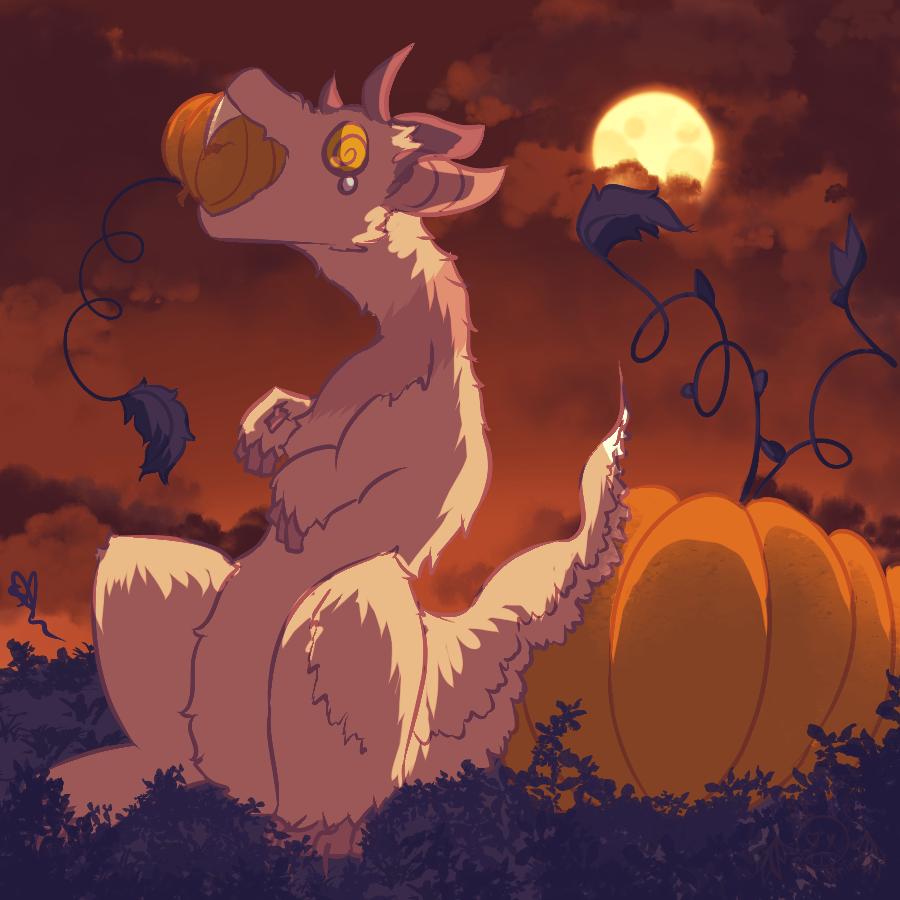 .:: Pumpkin Eater ::. by OpalesquePrincess