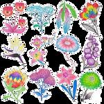 Pride Flowers - June 2021 by WandererTales