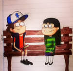 Candy and Dipper - Gravity Falls