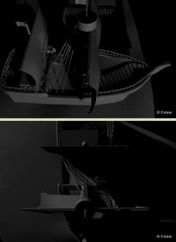 3D Pirate ship...