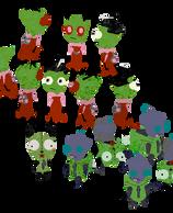 Petz -- Invader Zim and GIR by stardevampire
