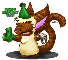 Happy Birthday Venn... by stardevampire
