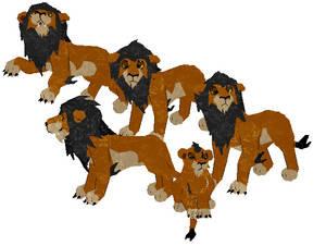 Petz -- Scar from The Lion King
