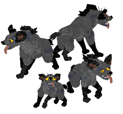 Petz -- Ed from The Lion King