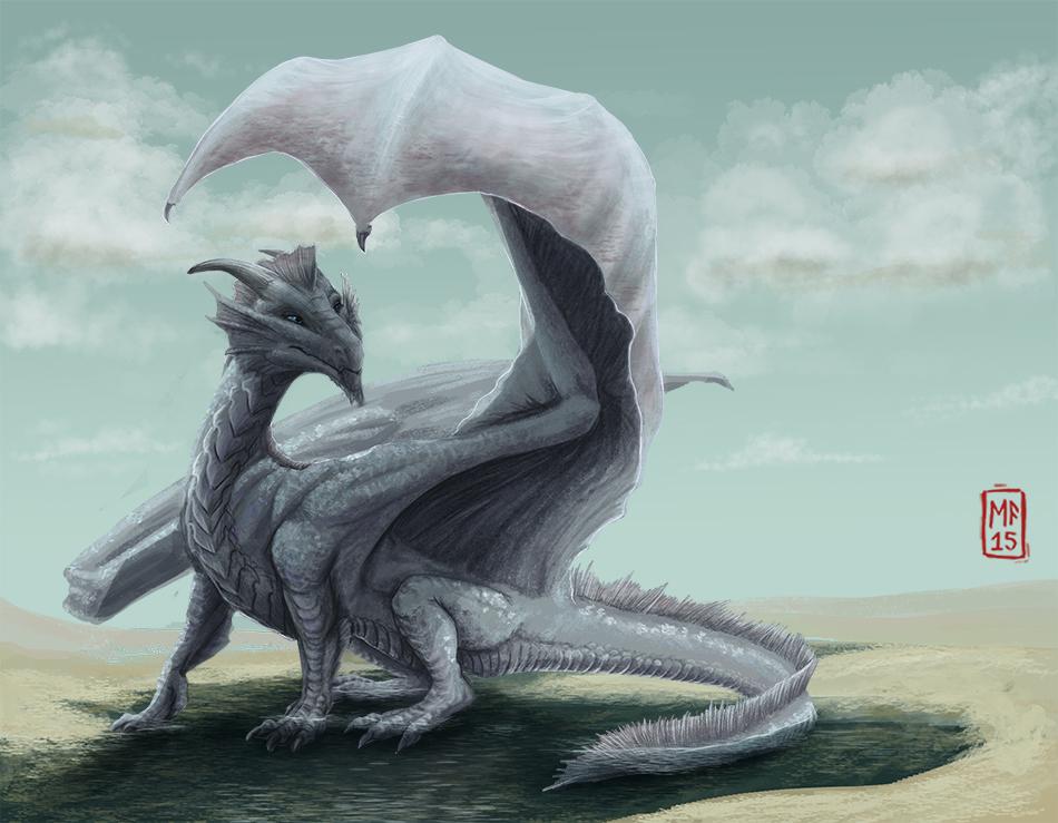 Vorel (Dragon form) by vonPipkin